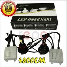 5000K CREE 48W LED HEADLIGHT CONVERSION KIT H1 H4 H7 H10 H13 9004 9005 9006 880