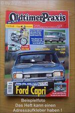 Oldtimer Praxis 7/03 Ford Capri 2600 GT Simca 1200 S