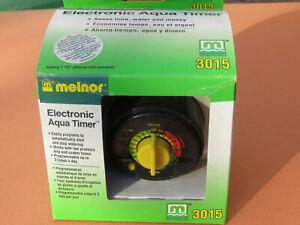 NEW Original Model 3015 Melnor Electronic Aqua Timer, 3-Cycles Per Hour