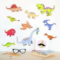 Cartoon Animals Dinosaur Wall Sticker Kids Room Bedroom Decor Vinyl Art Decal