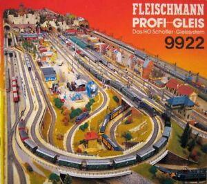 20 x Fleischmann H0 Gerade Gleise No 6001 Unbenutzt inOVP #1824