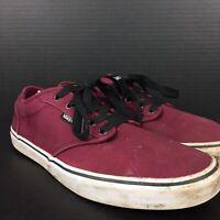 Vans Authentic Era Shoes Mens Size 13 US Burgundy Red 500714 12 UK