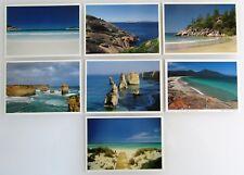 7 x AUSTRALIEN Postkarten Lot Postcard Australia Küste, Meer, Strände, Beaches