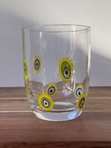 Murano Millefiori Tumbler Drinking Glass