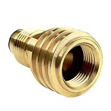 Propane Gas Adapter Refill LP Tank Burners Stove Conversion Coupler Connector