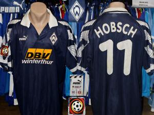 Vintage Werder Bremen Puma 1995/1996 Away #11 Hobsch Trikot Shirt Jersey Germany