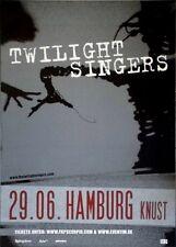 Twilight Singers-Afghan Whigs - 2011-manifesto concerto-Tour poster-Amburgo