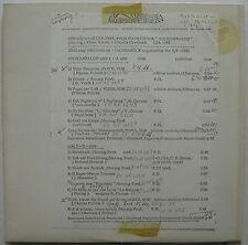 FITZCARRALDO Soundtrack 1982 US Advance Promo TEST PRESSING LP Prog POPOL VUH