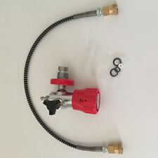 PCP use carbon fiber tank  air cylinder valve quick connector filling adaptor