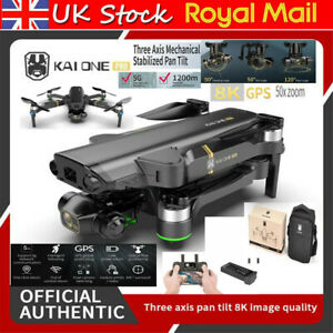 New Drone Gps 5G WIFI 8K HD Mechanical Gimbal Dual Camera Brushless Quadcopter