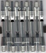 2in. 2ba SILVER Spinster Spinning Aluminum Dart Shafts: 3 per set