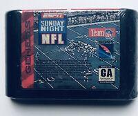 ESPN SUNDAY NIGHT FOOTBALL (1994 SEGA Genesis Video Game)