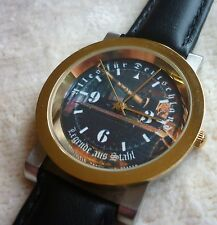 Armbanduhr Zifferblatt - Legende aus Stahl -  Ronda Quarzwerk  - 3