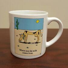 Skinny Cow Coffee Mug Where Non-Fat Milk Comes From