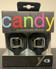 Crank Brothers Candy 1 XC All Mountain Bike Pedals, Black *NEW! FAST/FREE SHIPP!