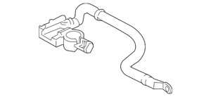 Genuine Ford Negative Cable D2BZ-14301-A