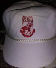 Milwaukee Polo Club Derby Horse Vtg Hat