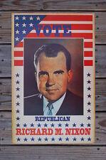 Richard M Nixon campaign poster