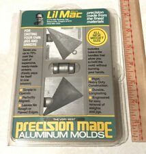 Lil Mac Sinker Aluminum Lead Mold 4 oz Pyramid P/N 04-4 Fishing Weight New Usa