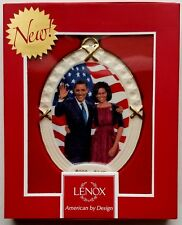 President Obama & The First Lady Ebony Visions Ornament by Lenox