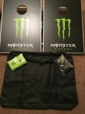 Monster Energy Drink CornHole Game New In Box W/ Carry Case & Bags Corn Hole