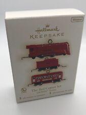 "Hallmark Keepsake 2009 Ornament ""The Red Comet Set"" Lionel Trains set/3 w/Box"