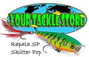 Rapala SP09 Skitter Pop Pick Colors & Quantity NIP