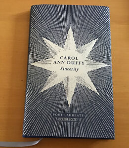 Sincerity Carol Ann Duffy Poetry Collection  Book Hardcover