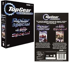 TOP GEAR UK 2007 - POLAR SPECIAL + US #1  GREAT ADVENTURES 1 - NEW R2 DVD not US