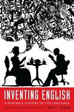Inventing English : A Portable History of the Language by Seth Lerer (2015, Pape