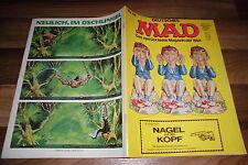 MAD # 66 - DON MARTIN: beim Psychiater / DACHSCHADEN / BAUANLEITUNG für FLUGZEUG