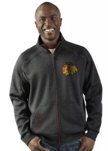 G-III Men's Chicago Blackhawks NHL Rapidity Jacket Coat Large L Hockey