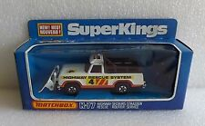 NIB 1978 MATCHBOX DIE-CAST SUPER KINGS HIGHWAY RESCUE SYSTEM K-77 ~NEW UNPUNCHED