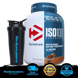 Dymatize ISO100 – 100% Hydrolyzed Whey Protein Isolate, Chocolate 5 lb (2.3 kg)