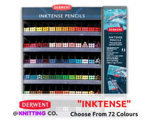 """Derwent """"Inktense"""" Water-soluble Colour Pencil Singles - Choose From 72 Colours"""