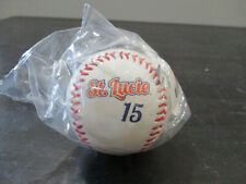 NEW Rawlings Tim Tebow Baseball St Lucie Mets Minor League Auto Autograph