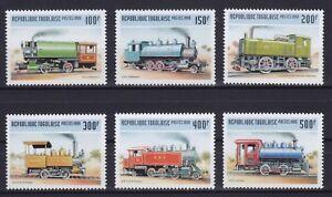 Togo  2809 - 2814 **, Dampflokomotiven