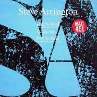 "Steve Arrington Feel So Real 12"" Maxi Vinyl Schallplatte 144546"