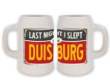 Keramik Bierkrug Reisen Küche Duisburg Deutschland Bedruckt