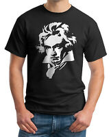 BEETHOVEN T-SHIRT - Ludwig van Beethoven - Classical Music Composer - Men's Tees