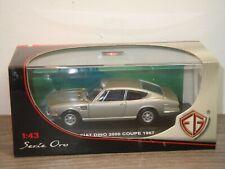 Fiat Dino 2000 Coupe 1967 - EG Models Serie Oro 1:43 in Box *37188