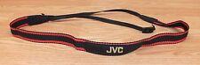 "Genuine JVC Black & Red Nylon 45"" Long Strap Only For Digital Camera **READ**"