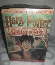 Harry Potter and the Goblet of Fire Audio Book 12 Unabridged Cassette Tapes NIB