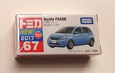 Takara Tomy #67 Toyota Passo Scale 1/57 Diecast Model Car - from USA