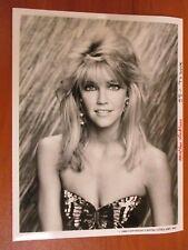 Vtg Glossy Press Photo Actress Heather Locklear Dynasty & Melrose Place 1986