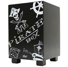 Baff Pirat Kinder-Trommelhocker Cajon Piratenhocker Hocker 38cm