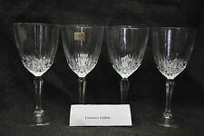 Four Crystal Wine Glasses/Water Goblets by Luminarc