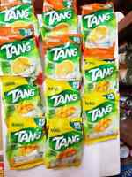 Tang Mango or Orange Flavour Instant Drink Mix - Makes 25 Glasses 125g