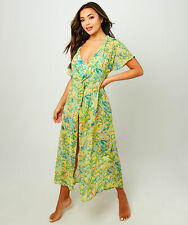 Joe Browns Womens Floral Knot Front Beach Cover Up Dress