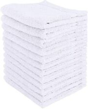 Utopia Towels Premium Washcloth Set (12 x 12 Inches, Grey) 600 Gsm 100% Cotton